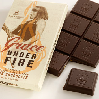 Grace Under Fire Chocolate Bar