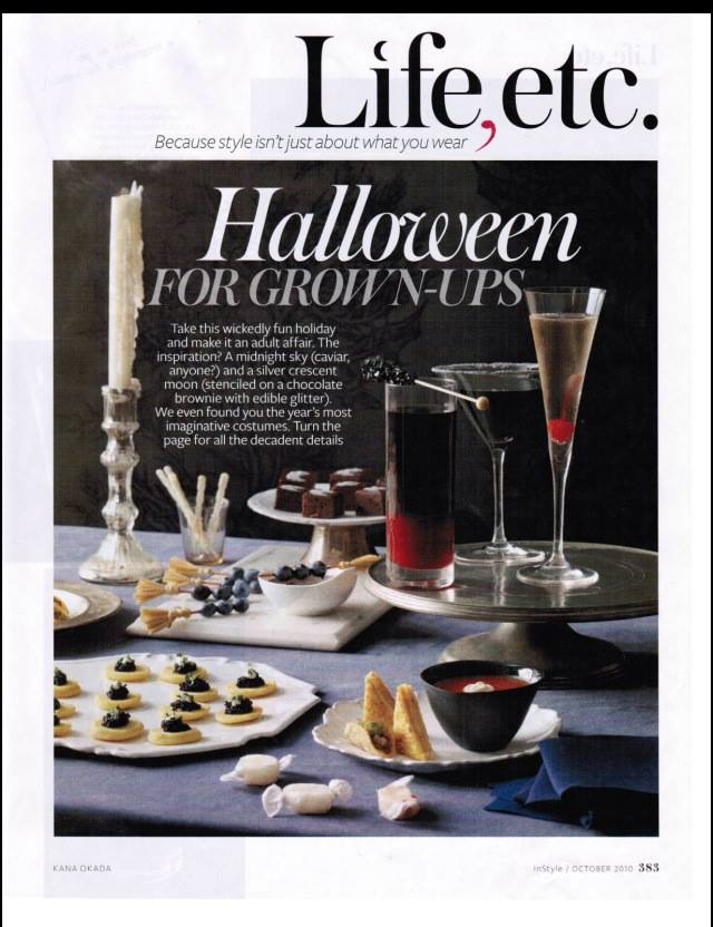 InStyle: Halloween for Grownups