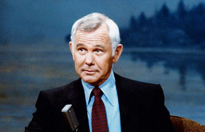 Playing Johnny Carson