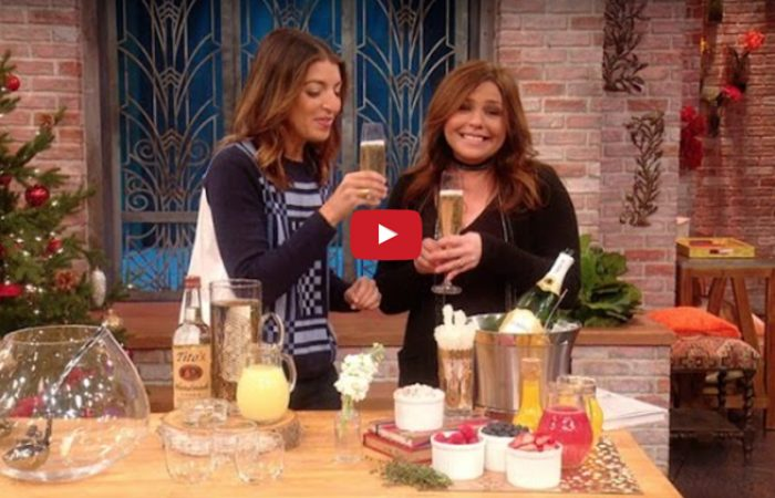 CREATE A CHAMPAGNE BAR WITH GARNISHES