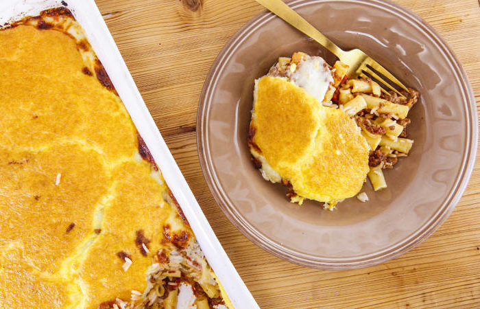 Mary Giuliani's Baked Ziti and Rice