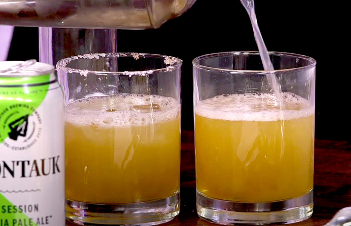 Celebrity Caterer Mary Giuliani Shows Us the Drink of Summer – a Beer-Garita